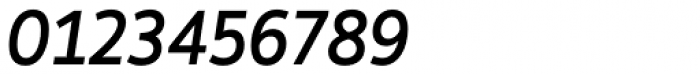 Hoxton North Medium Italic Font OTHER CHARS