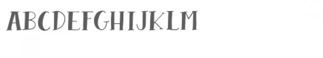 hoodwink font Font LOWERCASE