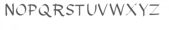 horatio font Font UPPERCASE