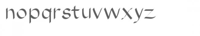 horatio font Font LOWERCASE