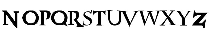 HPposter Font UPPERCASE