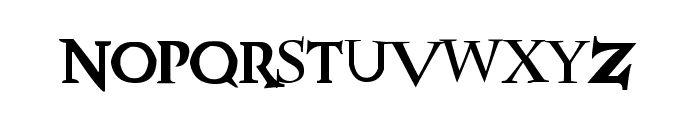 HPposter Font LOWERCASE