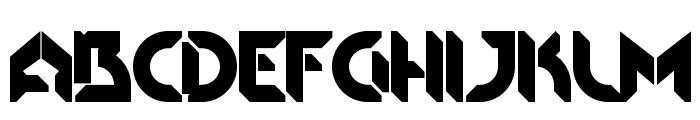 HRinzler-Regular Font UPPERCASE