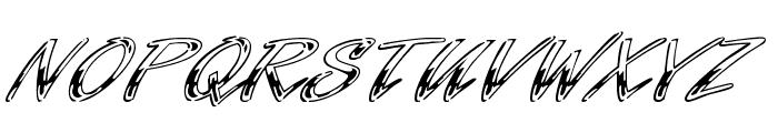 Hrom Font UPPERCASE
