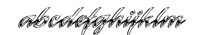 Hrom Font LOWERCASE