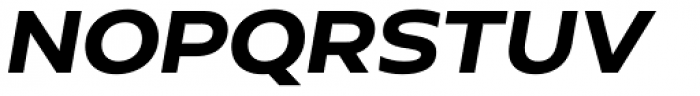 Hrot Bold Italic Font UPPERCASE