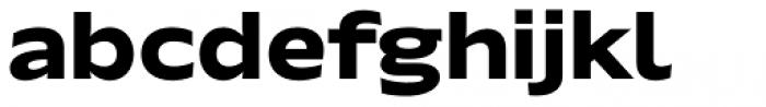 Hrot Bold Font LOWERCASE