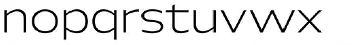 Hrot Light Regular Font LOWERCASE