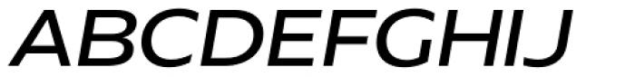 Hrot Medium Italic Font UPPERCASE