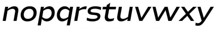 Hrot Medium Italic Font LOWERCASE