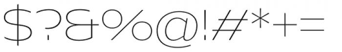 Hrot Thin Regular Font OTHER CHARS