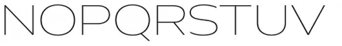 Hrot Thin Regular Font UPPERCASE