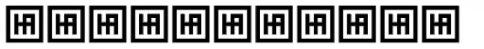 HS Almidad Bold Font UPPERCASE