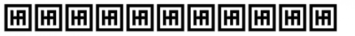 HS Almidad Bold Font LOWERCASE