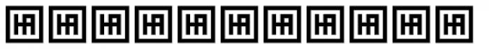 HS Ishraq Regular Font LOWERCASE