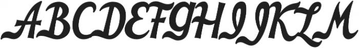 HT Cafe Regular otf (400) Font UPPERCASE