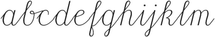 HT Libreria Regular otf (400) Font LOWERCASE