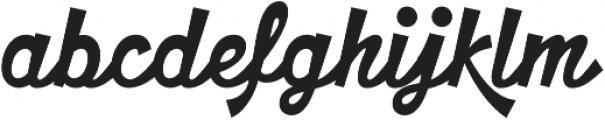 HT Motel Regular otf (400) Font LOWERCASE