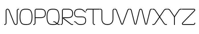 HT Skyline Font UPPERCASE