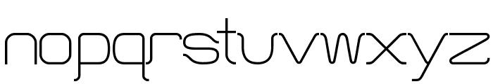 HT Skyline Font LOWERCASE