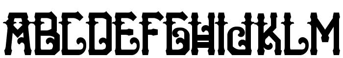 HTheNomad-Black Font UPPERCASE