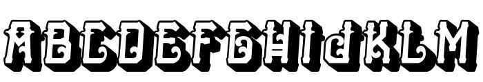 HTheNomad-Heavy Font LOWERCASE
