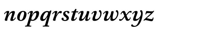 HT Ashbury Bold Italic Font LOWERCASE