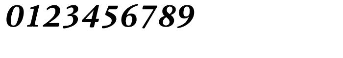 HT Cala Bold Italic Font OTHER CHARS