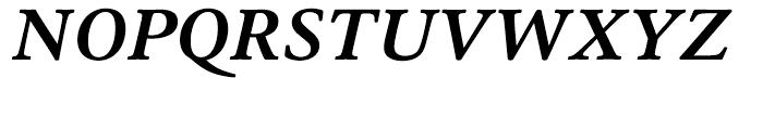 HT Cala Bold Italic Font UPPERCASE