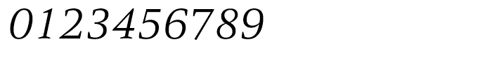 HT Carat Light Italic Font OTHER CHARS