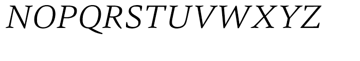 HT Carat Light Italic Font UPPERCASE