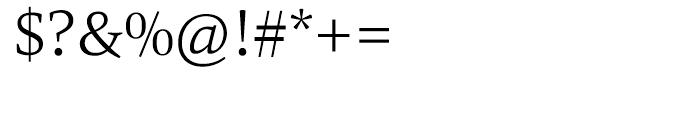 HT Carat Light Font OTHER CHARS