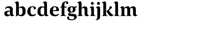 HT Corda Bold Font LOWERCASE