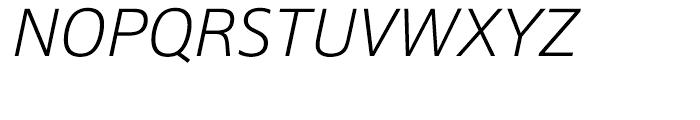 HT Epoca Light Italic Font UPPERCASE