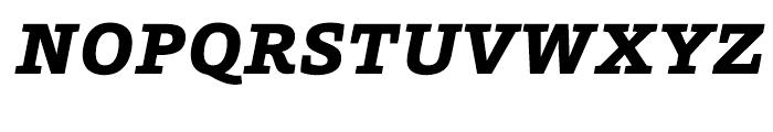 HT Foro Extra Bold Italic Font UPPERCASE
