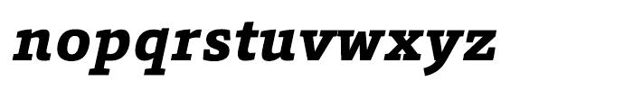 HT Foro Extra Bold Italic Font LOWERCASE