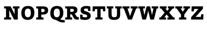 HT Foro Extra Bold Font UPPERCASE