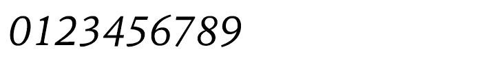 HT Sina Nova Italic Font OTHER CHARS