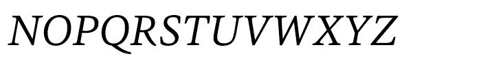 HT Sina Nova Italic Font UPPERCASE