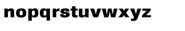 HT Sixta Extra Bold Font LOWERCASE