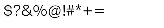 HT Sixta Light Font OTHER CHARS