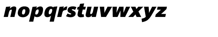 HT Sonus Black Italic Font LOWERCASE