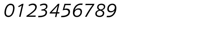 HT Sonus Light Italic Font OTHER CHARS