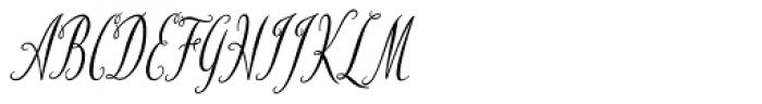 HT Fiorista Font UPPERCASE