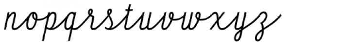 HT Profumeria Font LOWERCASE