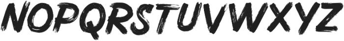 HUCK SVG otf (400) Font UPPERCASE