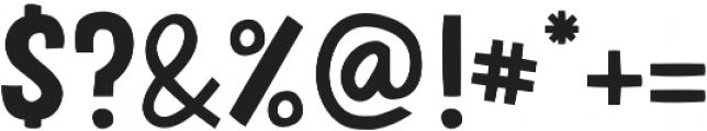 HUDSON Regular otf (400) Font OTHER CHARS