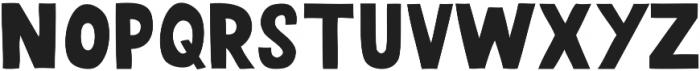 HUDSON Regular otf (400) Font UPPERCASE