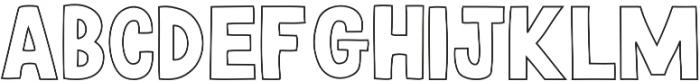 HUDSON Regular otf (400) Font LOWERCASE