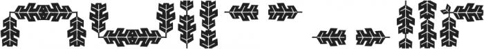 Hubertus Extra Dynks otf (400) Font LOWERCASE
